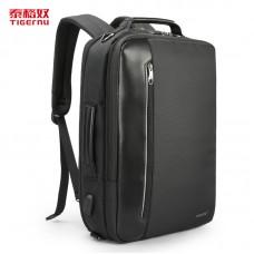 Рюкзак городской TIGERNU T-B3639, черный