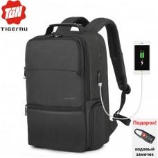 Рюкзак Tigernu T-B3905 с USB-портом и отделением для ноутбука 19 дюймов