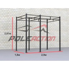 Функциональная рама для кроссфит (crossfit), 2900х1800