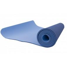 Антибактериальный коврик для йоги, фитнеса GO SPORT Yoga Mat, 6 мм